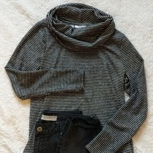 Long sleeve cowl sweater